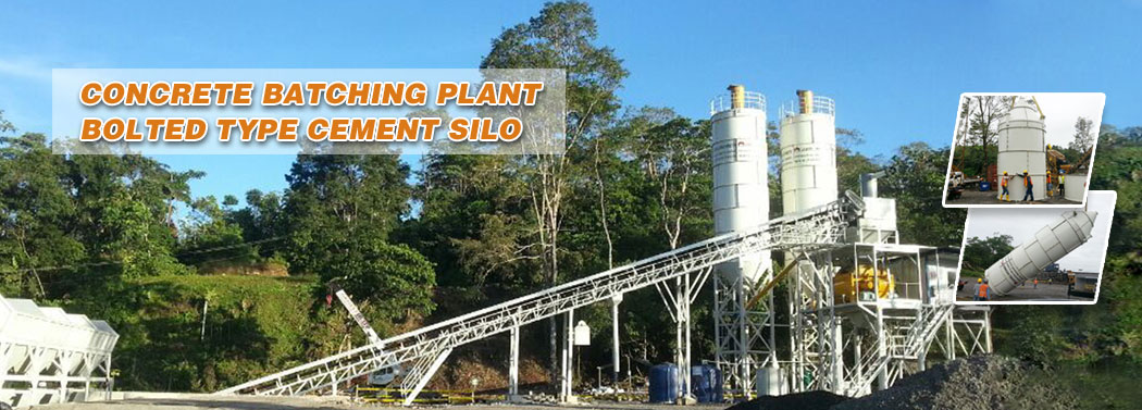 concrete batching plant manufacturer in china